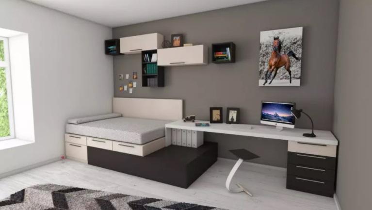 Design modern de casă minimalistă